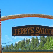 jerry's saloon sign